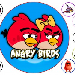 """Съедобная картинка """"Angry Birds"""" 2"""