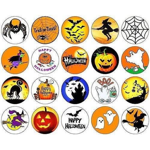 "Съедобная картинка ""Хеллоуин"" 7"