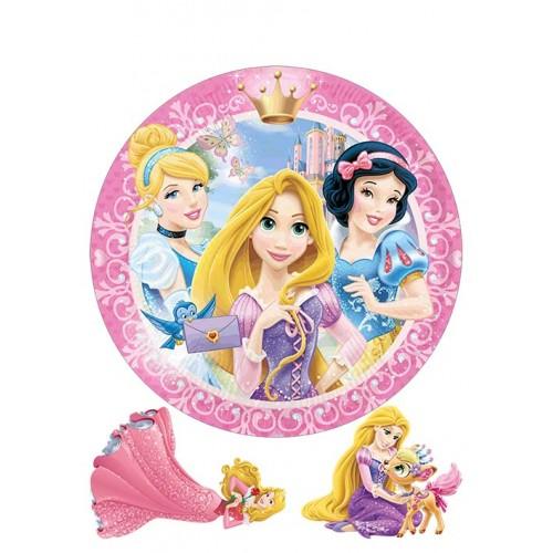 """Съедобная картинка """"Принцессы"""" 4"""