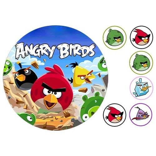 """Съедобная картинка """"Angry Birds"""" 4"""