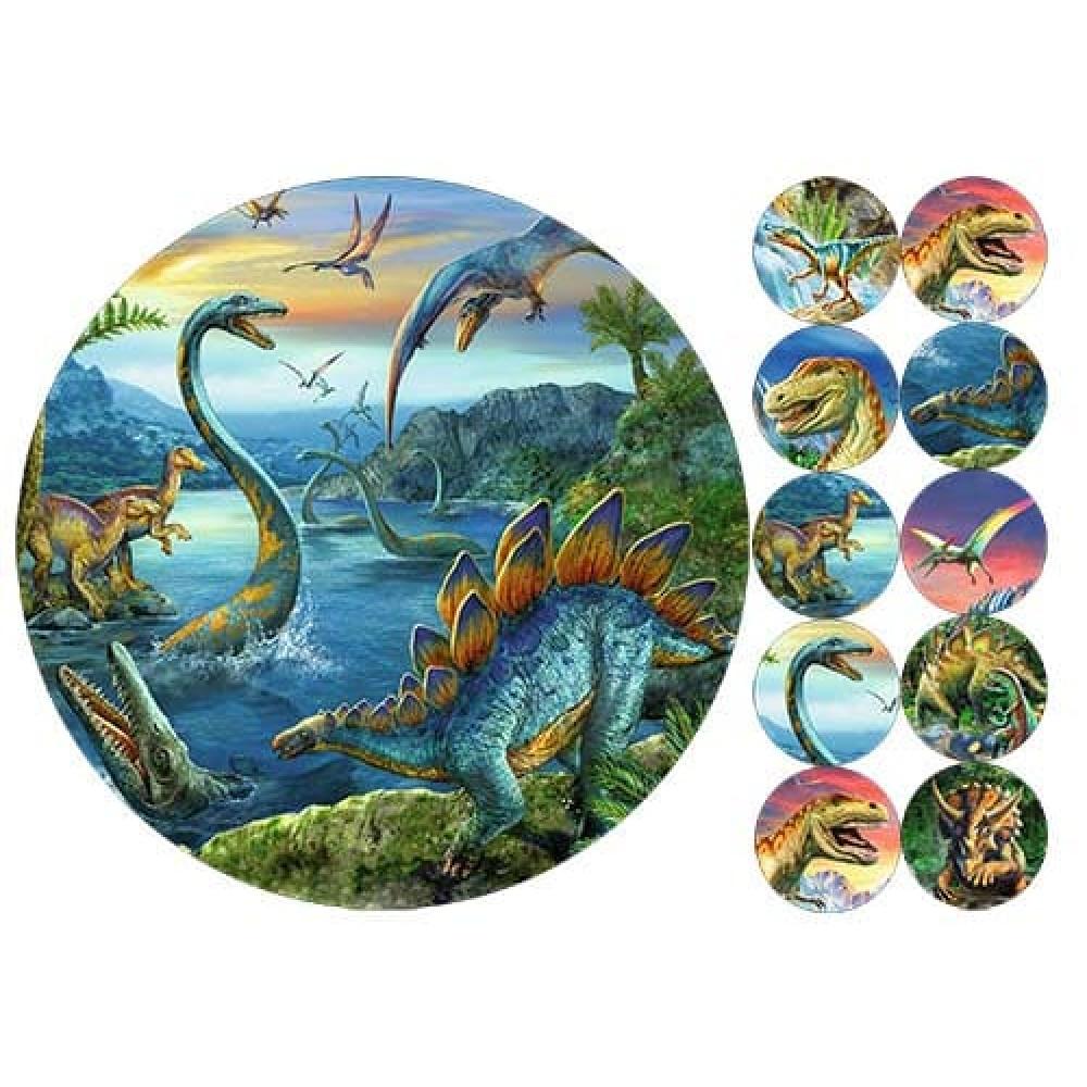 """Вафельная  картинка """"Динозавры"""" 1"""