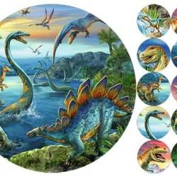 """Съедобная  картинка """"Динозавры"""" 1"""