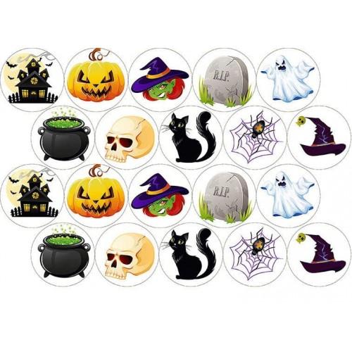 "Съедобная картинка ""Хеллоуин 5"""