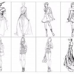 "Съедобная картинка ""Мода, графика"""