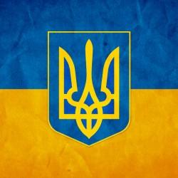 """Съедобная картинка """"Флаг и герб Украины"""" 2"""