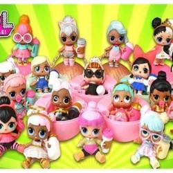 """Съедобная  картинка """"Куклы LOL"""" 4"""