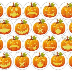 "Съедобная картинка ""Хеллоуин 6"""