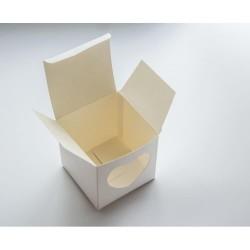 Коробка на 1 капкейк с боковым окошком