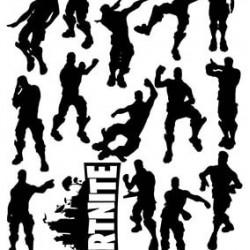"Съедобная картинка ""Fortnite (Фортнайт) топперы"" 2"