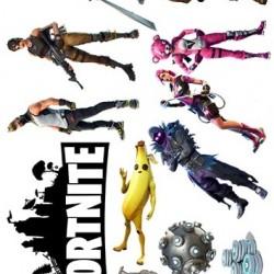 "Съедобная картинка ""Fortnite (Фортнайт) топперы"" 3"