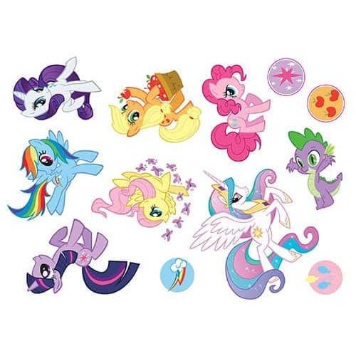 """Съедобная картинка """"Мой маленький пони (топпер)"""" 6"""
