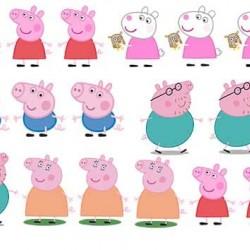 """Съедобная  картинка """"Свинка Пеппа (топпер)"""""""