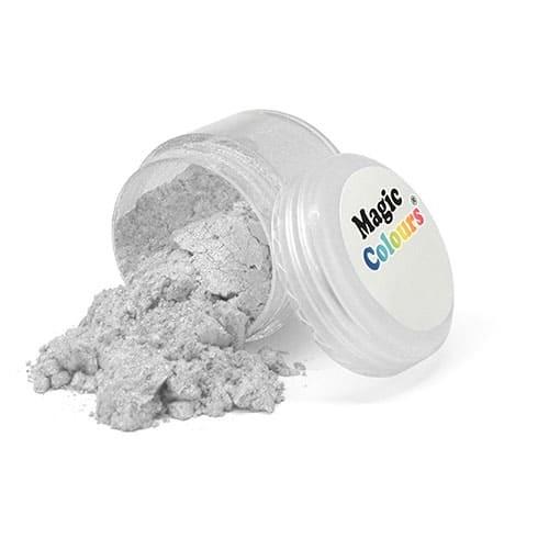 Сверкающая пыльца Pure Silver (серебряная), 7 г