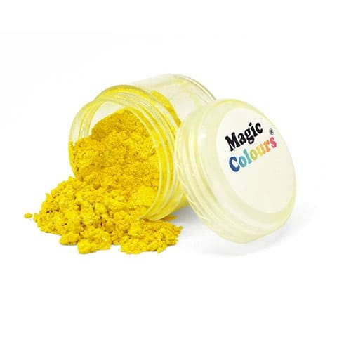 Сверкающая пыльца Yellow Light (желтая), 7 г