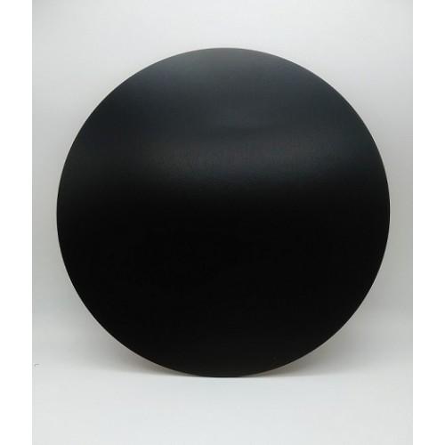 Деревянная подложка под торт 30 см черная (ДВП)