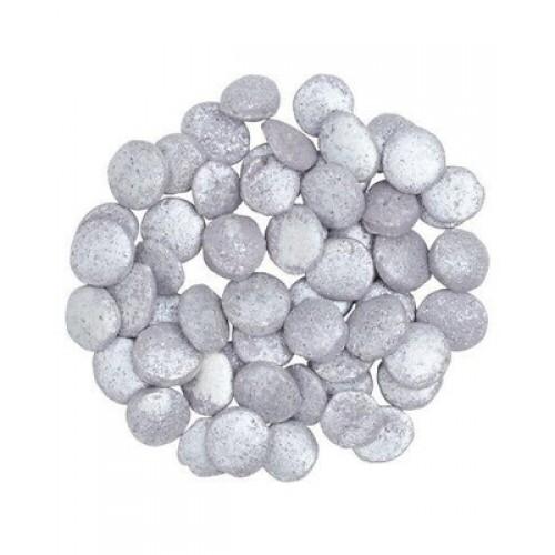 Посыпка сахарная Серебряное конфетти 20г