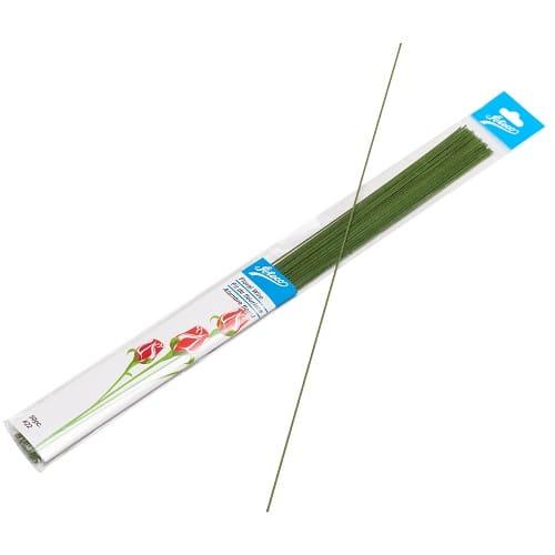 Проволока ATECO зеленая в бумаге №26, 36 см (50 шт)