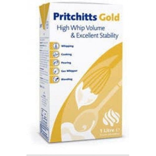 """Сливки кондитерские """"Pritchitts Gold"""", 33,5%"""