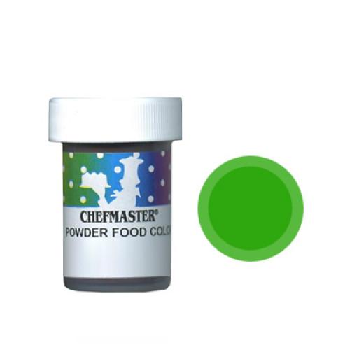 Сухой краситель Зеленый Chefmaster  3 г